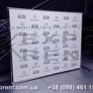 Баннерная конструкция